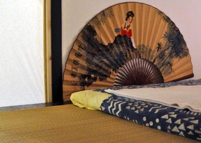 Le futon (détail)